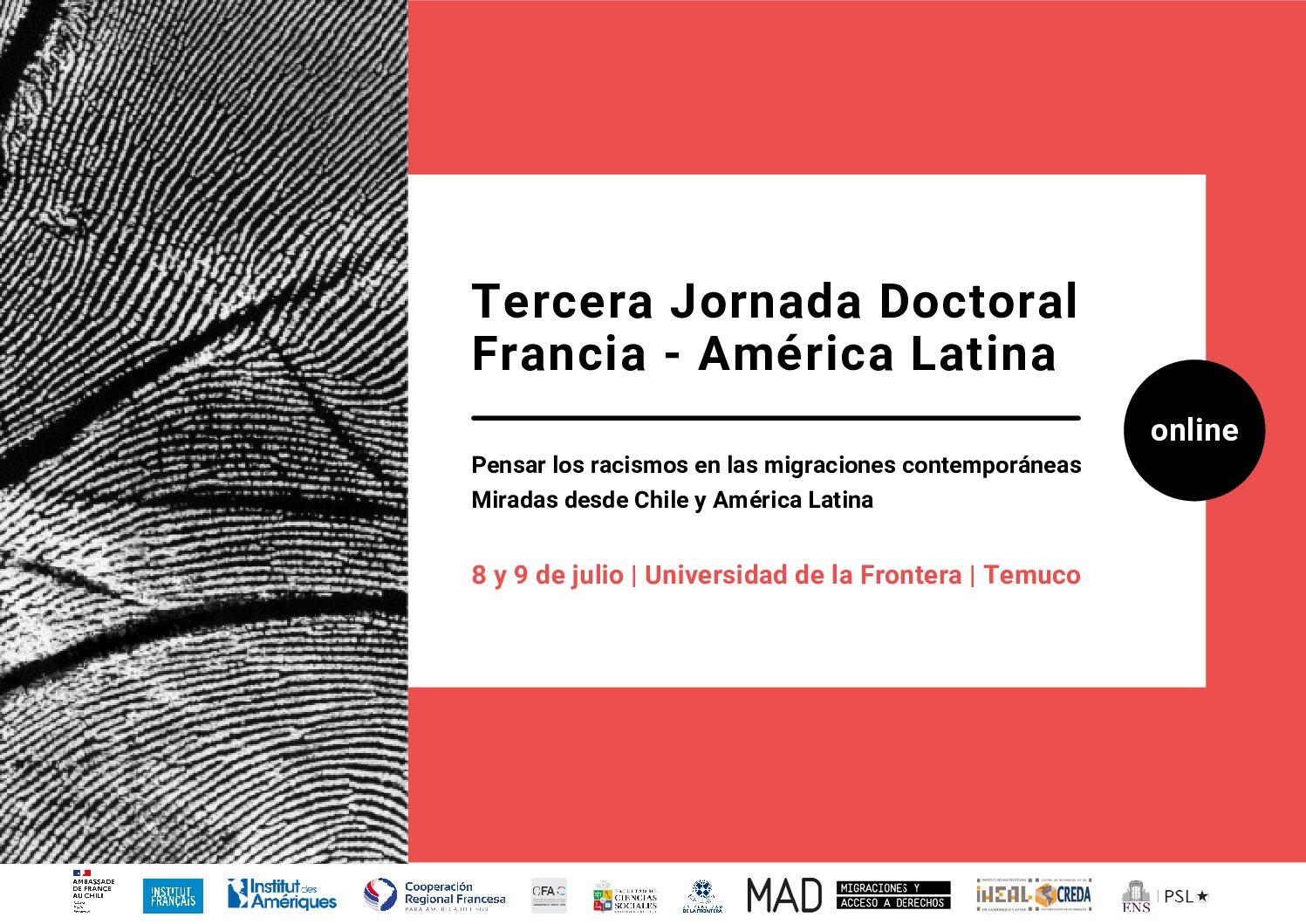 Tercera Jornada de Doctorado Francia-América Latina